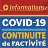 Informations - Continuité de l'activité