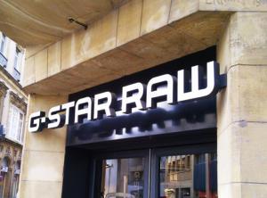 Atelier-Enseignes-Lettres-lumineuses-leds-G-Star-Rue-des-Clerc-Metz-57