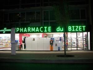 Atelier-Enseignes-Lettres-lumineuses-leds-Pharmacie-du-Bizet-Villeneuve-d-Ascq-59