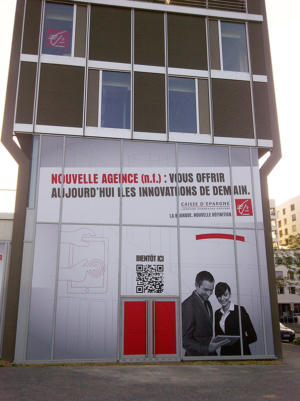 Atelier-Enseignes-Inscription-impression-numerique-Caisse-d-Epargne-Metz-La-Halle-Metz-57